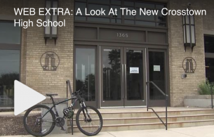Local Memphis – WEB EXTRA: A Look At The New Crosstown High School